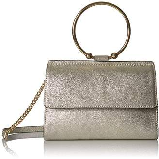 Milly Metallic Leather Mini Crossbody
