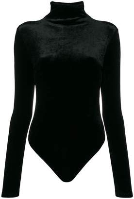 Unravel Project turtleneck velvet body