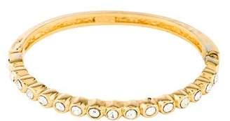 Christian Dior Crystal Hinged Bangle