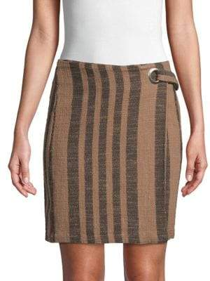 Free People Its A Wrap Cotton Skirt