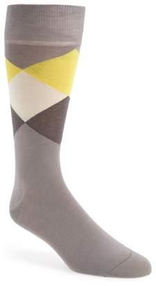 Cole Haan Large Diamond Crew Socks
