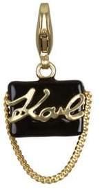 Karl Lagerfeld Swarovski Crystal and Crystal Handbag Charm