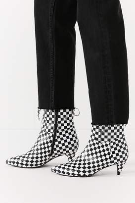 Jeffrey Campbell Muse Checkerboard Ankle Boot