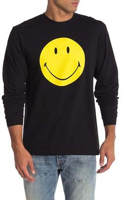 Body Rags Smiley Face Long Sleeve Tee