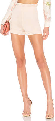LPA High Waist Ruffle Short