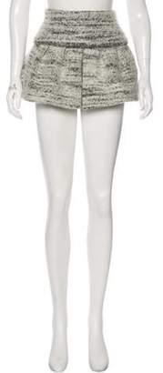 Isabel Marant Tweed Mini Skirt Grey Tweed Mini Skirt