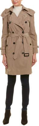 Burberry Amberford Taffeta Trench Coat