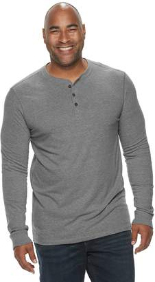 Sonoma Goods For Life Big & Tall SONOMA Goods for Life Supersoft Regular-Fit Henley