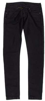 Ring Low-Rise Straight-Leg Jeans Black Low-Rise Straight-Leg Jeans