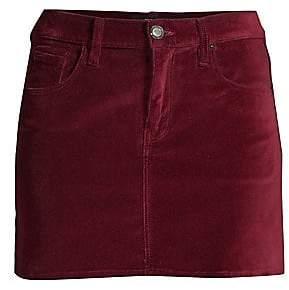 Hudson Jeans Jeans Women's Viper Velvet Mini Skirt