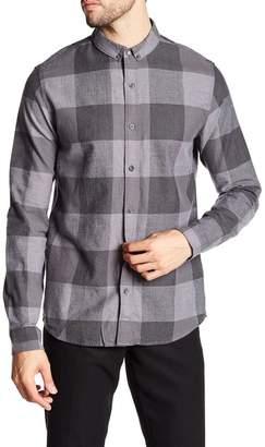 Calvin Klein Wilken Checkered Slim Fit Flannel Shirt