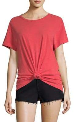 Frame Cotton Knot Tee