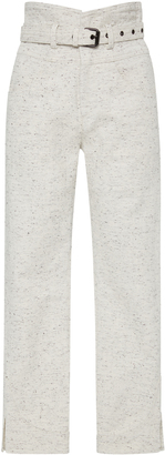 Isabel Marant High-Rise Cotton Pants $480 thestylecure.com