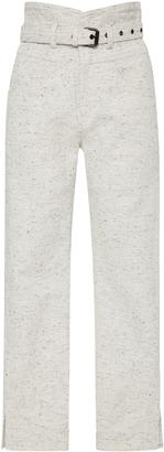 Isabel Marant High-Rise Cotton Pants $480 thestylecure.com