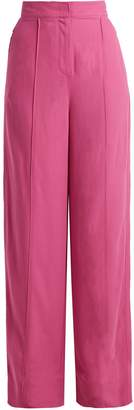 Roksanda Lapari high-rise twill trousers