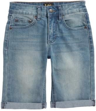 Lee Stretch Denim Roll Cuff Shorts (Toddler Boys & Little Boys)