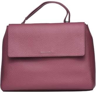 Orciani Sveva Large Leather Shoulder Bag