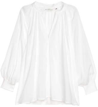 H&M Modal Blouse - White