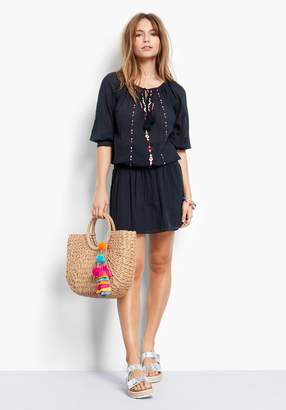 Hush Goa Embroidered Dress