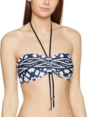 Seafolly Modern Tribe Bandeau Bikini Top DD-Cups