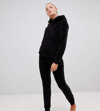 Asos Tall DESIGN Tall Lounge super soft hoody and jogger twosie