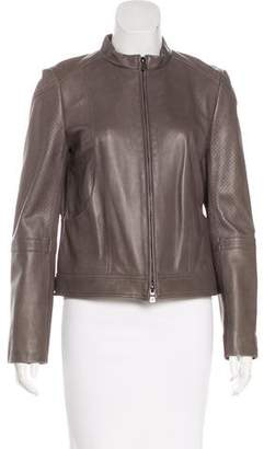 Tory Burch Brandy Leather Jacket w/ Tags