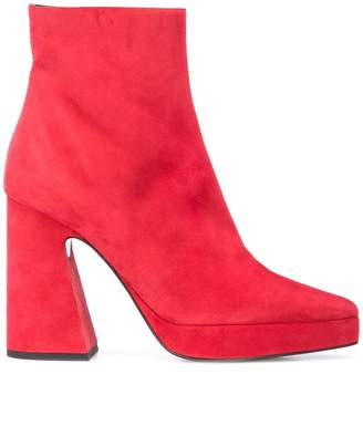 Proenza Schouler platform ankle boots