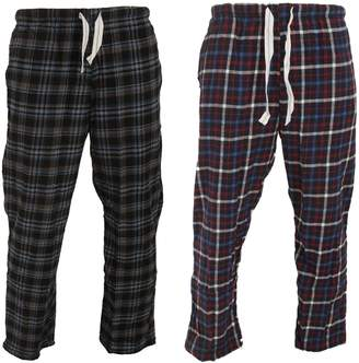 at Amazon Canada · Cargo Bay Mens Tartan Easticatedounge Pants (Pack of 2) a6930c2a4