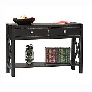 Easton Console Table, Antique Black
