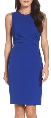 Women's Adrianna Papell Crepe Sheath Dress $98 thestylecure.com