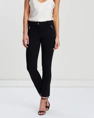 Wallis Petite Ponte Trousers