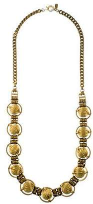 Auden Fluted Bead Chain Necklace