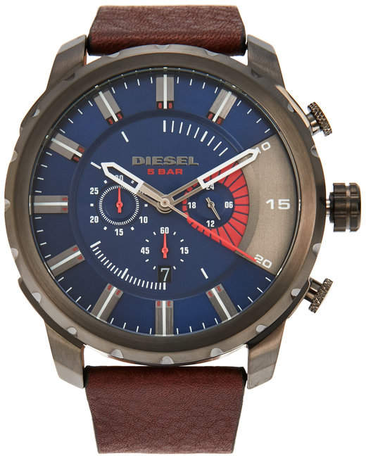Diesel diesel DZ4366 Black & Dark Brown Watch