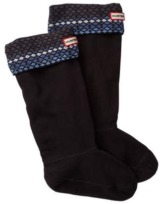 Hunter Tall Fairisle Boot Socks