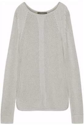 Derek Lam Open-Knit Cashmere Sweater