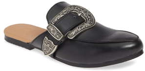 James Smith Street Style Loafer Mule