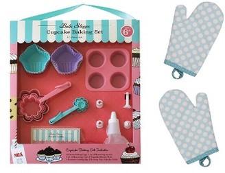 Handstand Kitchen Bake Shoppe Cupcake Baking Kit $46 thestylecure.com
