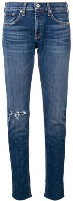 Rag & Bone Jean classic rolled-up jeans