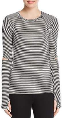 N. PHILANTHROPY Arlo Long-Sleeve Stripe Tee