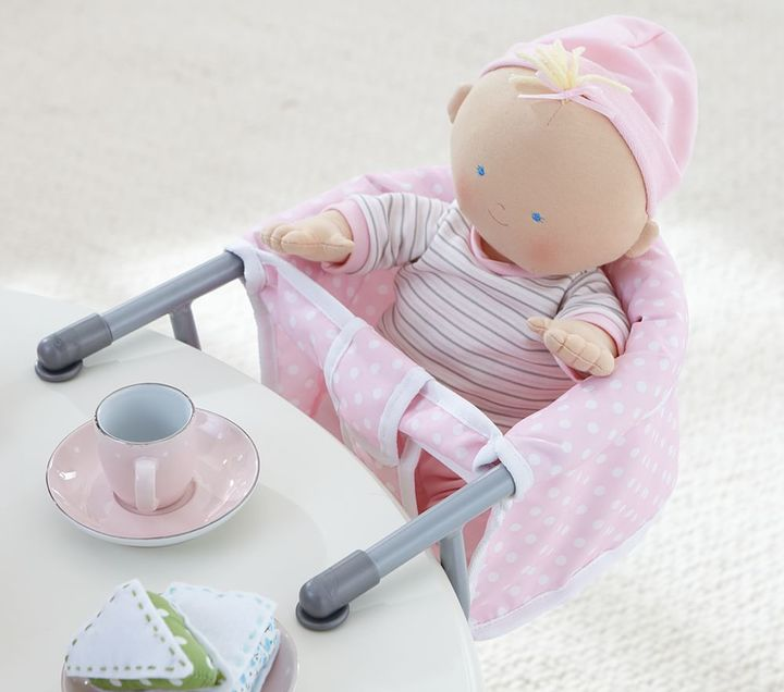Pottery Barn Kids Baby Doll Clip On Booster Chair