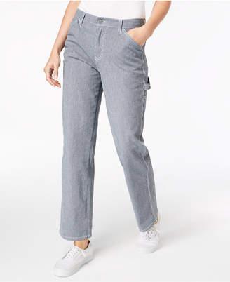 Dickies Striped Carpenter Jeans