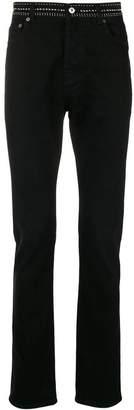 Valentino studded waistband jeans