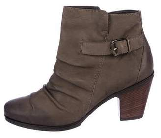 Paul Green Nubuck Ankle Booties