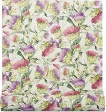 Gucci Thistles and Birds print wallpaper