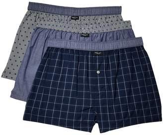 Kenneth Cole Reaction 3-Pack Woven Boxer Men's Underwear