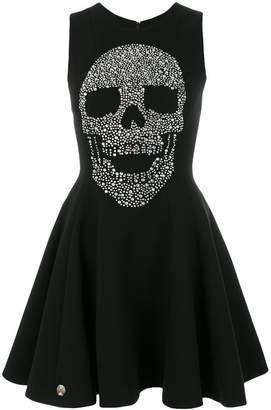 Philipp Plein skull print dress