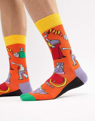 Happy Socks x The Beatles Yellow Submarine Socks