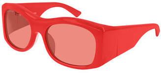 Balenciaga Chunky Rectangle Sunglasses
