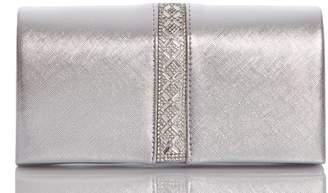 Quiz Silver Jewel Trim Bag