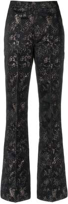 Tufi Duek printed flared trousers